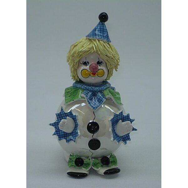 Zampiva Authentic Shelf Chubby Clown Figurine by Three Star Im/Ex Inc.