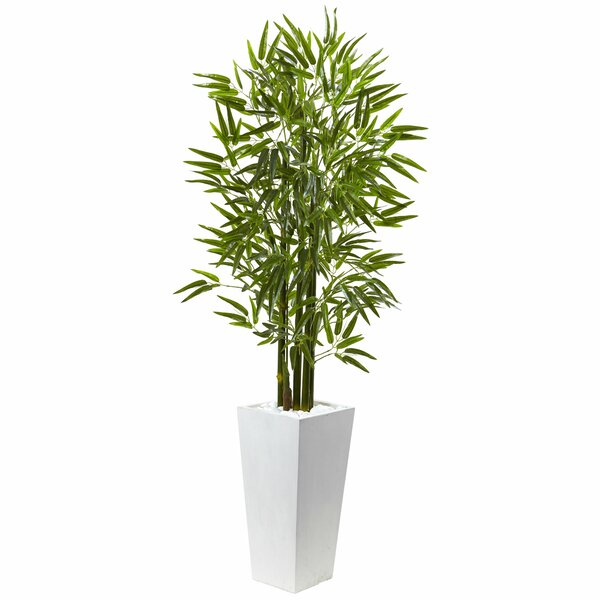 Bamboo Tree in Planter by Nearly Natural