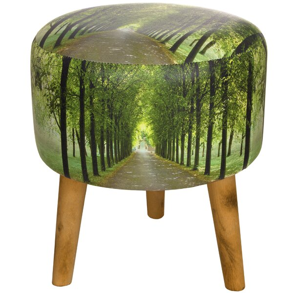 Path of Life Stool by Oriental Furniture