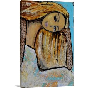 Dreamer by Erin Ashley Painting Print on Canvas by Great Big Canvas