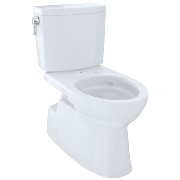 Vespin® II 1 GPF Elongated Two-Piece Toilet by Toto