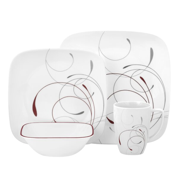 Splendor 16 Piece Dinnerware Set, Service for 4 by Corelle