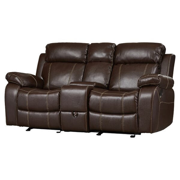 Tuthill Double Gliding Reclining Loveseat by Darby Home Co Darby Home Co