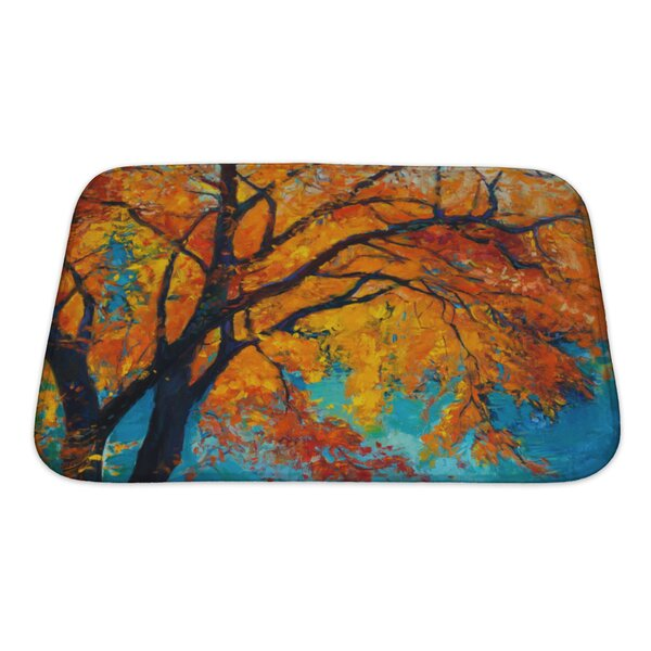 Nature Beautiful Autumn Tree Bath Rug by Gear New