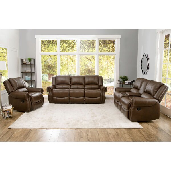 Baynes 3 Piece Reclining Living Room Set by Darby Home Co