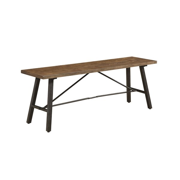 Teena Wood Bench by Williston Forge