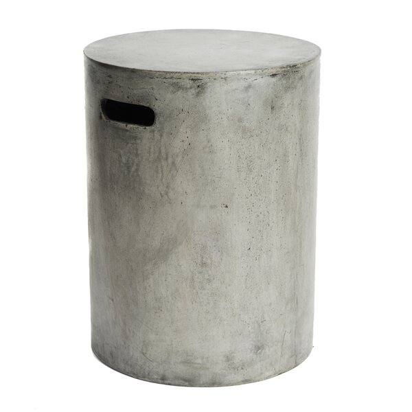 Eco-Concrete Watercourse Stool by My Spirit Garden
