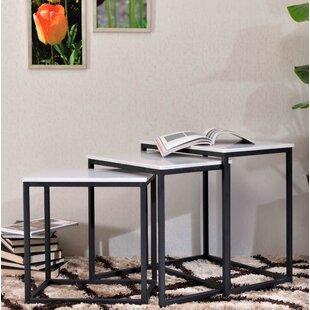 Discount Isberga 3 Piece Nesting Tables Brayden Studio