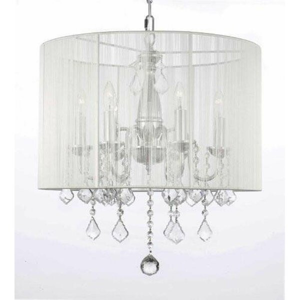 Luca 6 - Light Candle Style Drum Chandelier By House Of Hampton