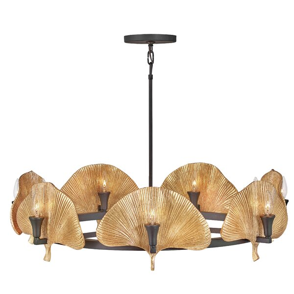 Cera 14 - Light Statement Wagon Wheel Chandelier By Fredrick Ramond