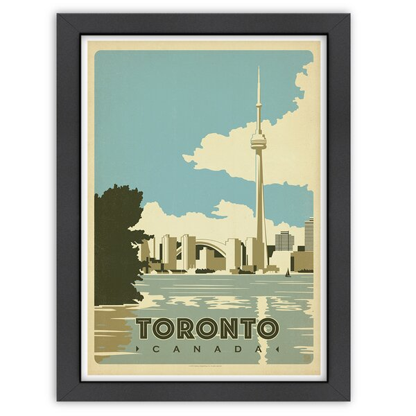 Toronto Canada Framed Vintage Advertisement by East Urban Home