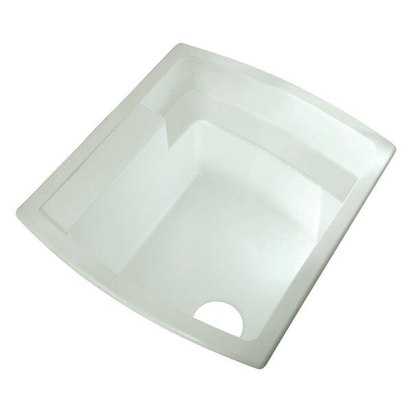 Latitude 25 x 22 Drop-In/Undermount Laundry Sink by Sterling by Kohler