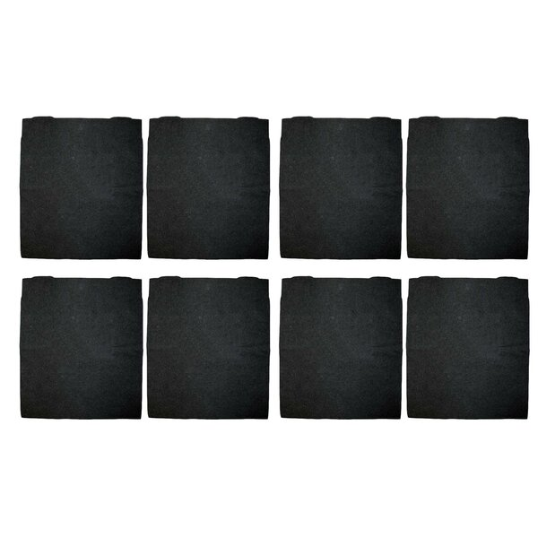 Kenmore 295 Series Carbon Pre Filter (Set of 8) by Crucial