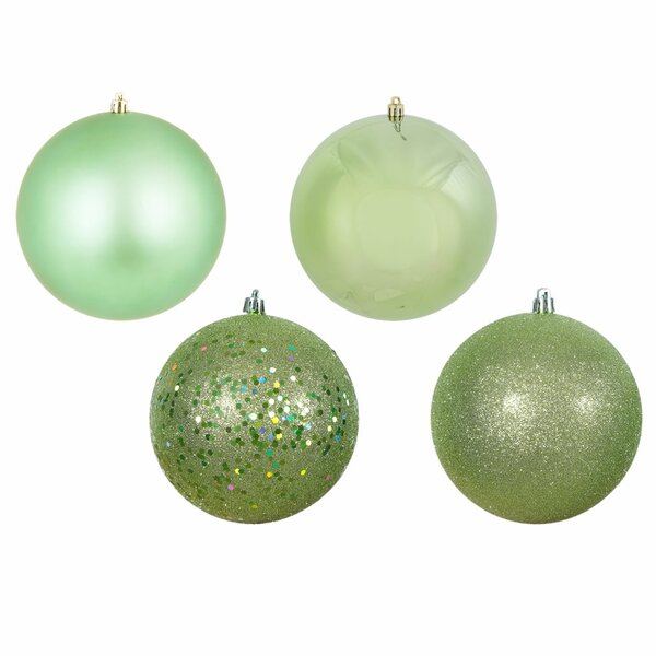 12 Piece Christmas Ball Ornament Set by The Holiday Aisle