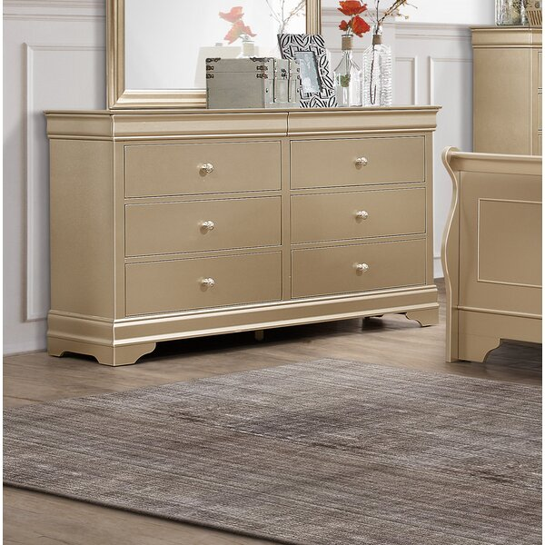 Best #1 6 Drawer Dresser By Rosdorf Park Wonderful