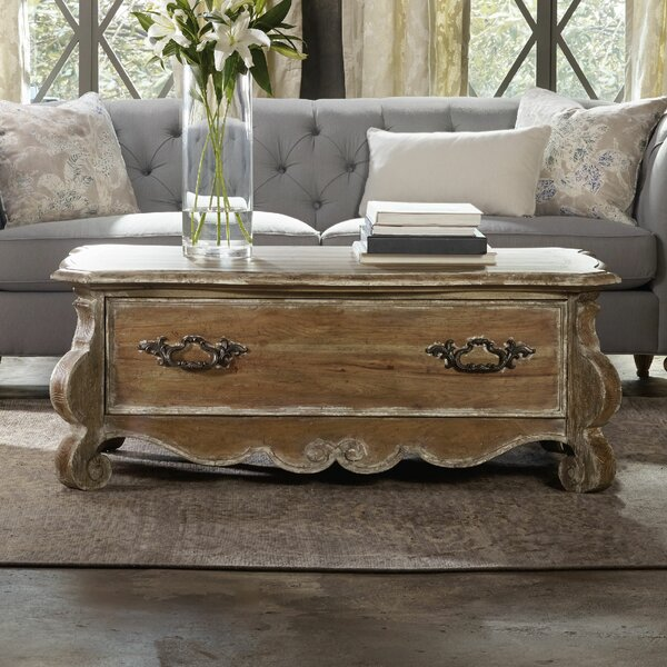 Chatelet Coffee Table with Storage by Hooker Furniture