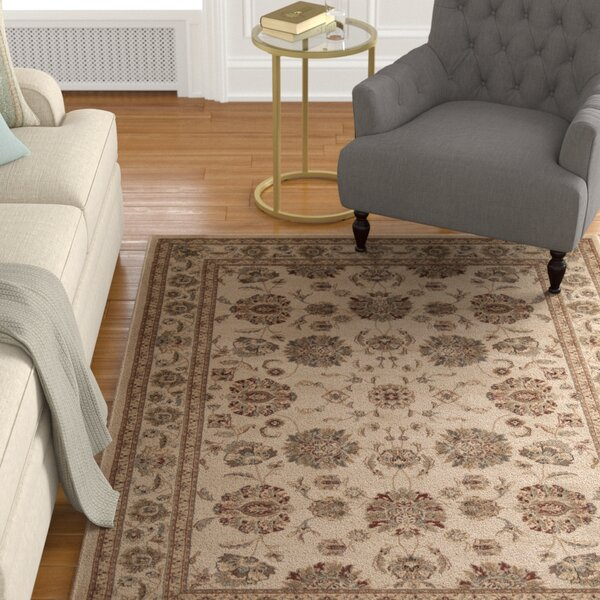 Swenson Ivory Area Rug by Alcott Hill