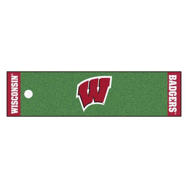 NCAA University of Wisconsin Putting Green Doormat by FANMATS