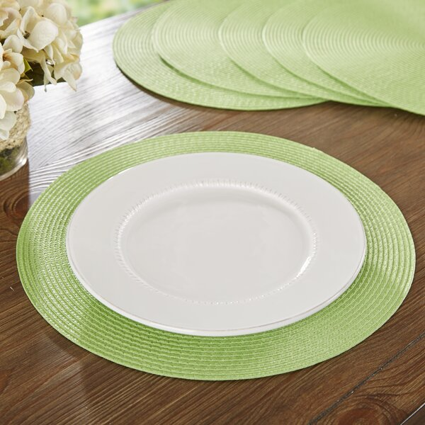 Wayfair Basics Round Woven Placemat (Set of 6) by Wayfair Basics™