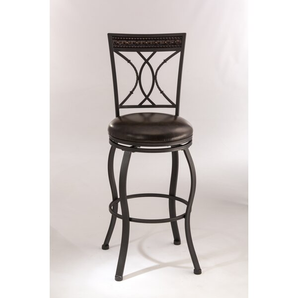 Galan 30 Swivel Bar Stool by Winston Porter