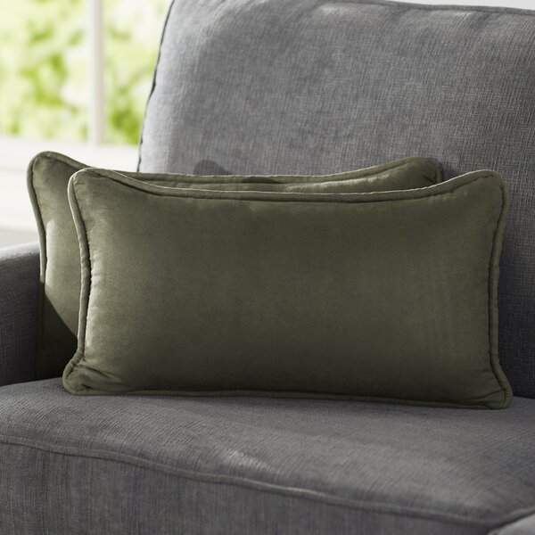 Hargreaves Lumbar Pillow (Set of 2) by Three Posts| @ $45.99