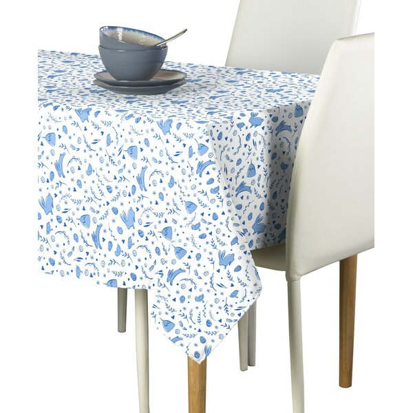 Mickel Bunnies Tablecloth by August Grove