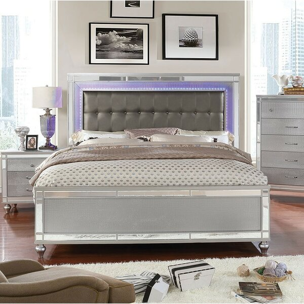 Rothwell Upholstered Standard Bed by Everly Quinn