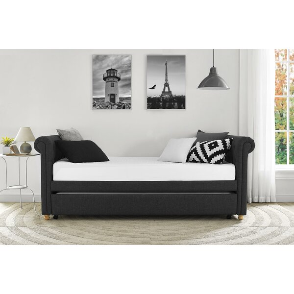 Three Posts Rossburg Daybed With Trundle Amp Reviews Wayfair