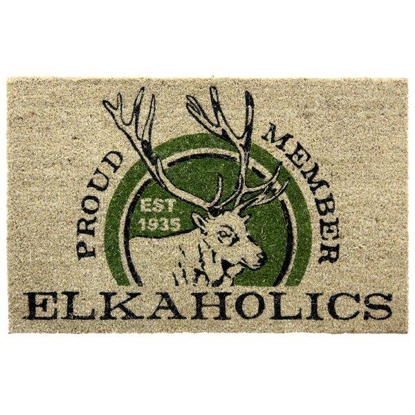 Amara Bleach Elkaholics Doormat by Millwood Pines