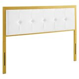 Neal Upholstered Panel Headboard by Everly Quinn