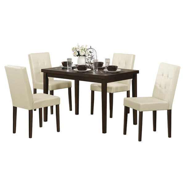Newton 5 Piece Dining Set by Latitude Run