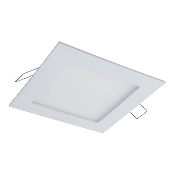 LED Square 4 Open Recessed Trim by Halo