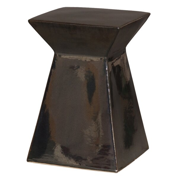 Ameesha Upright Accent Stool by World Menagerie