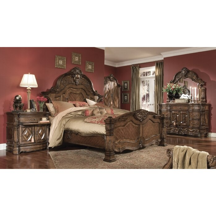 Michael Amini Windsor Court Panel Customizable Bedroom Set ...