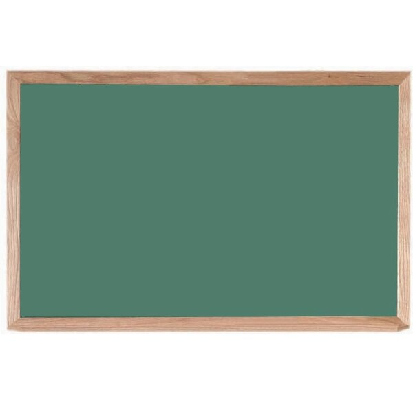 Composition Wall Mounted Chalkboard By Aarco.
