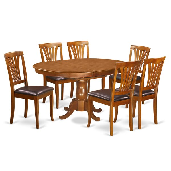 Portland 7 Piece Dining Set by East West Furniture