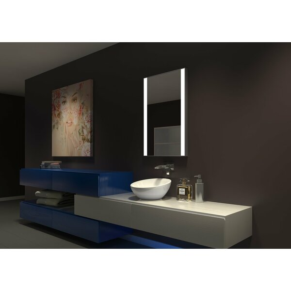 Kristian Illuminated Bathroom Mirror by Orren Ellis