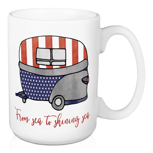 Funkhouser From Sea to Shining Sea Coffee Mug by The Holiday Aisle