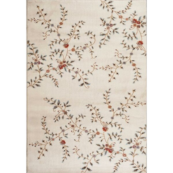 Tiago Ivory Indoor/Outdoor Area Rug by August Grove