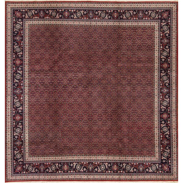 One-of-a-Kind Fish Hand-Knotted Wool Rust Indoor Area Rug by Bokara Rug Co., Inc.
