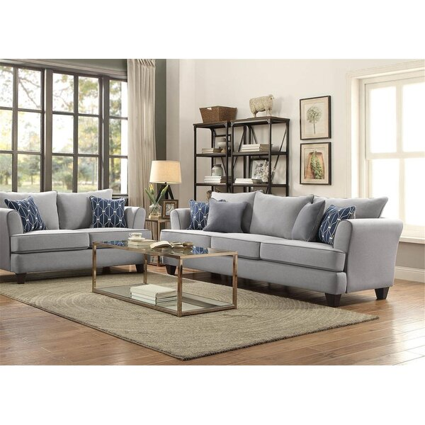 Wilborn 2 Piece Living Room Set by Winston Porter