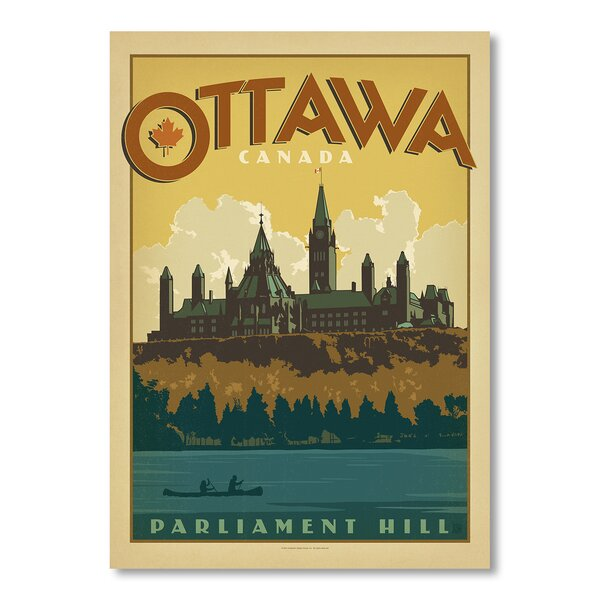 Ottawa Vintage Advertisement by East Urban Home