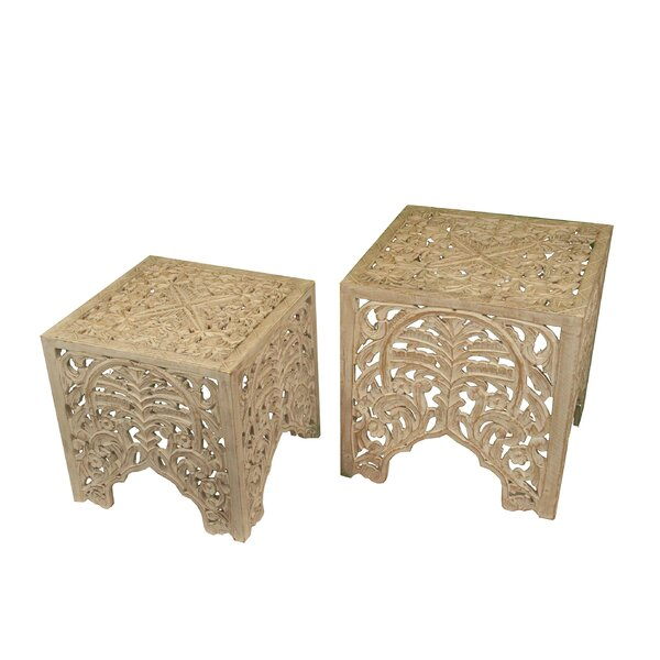 Milliman Solid Wood Nesting Tables By Rosalind Wheeler