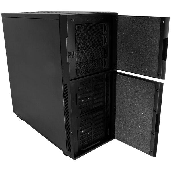 Nanoxia 22.5 H x 9.25 W Desk CPU Holder by Eagle Tech