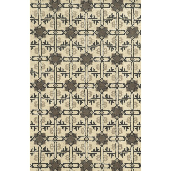 Tampico Hand-Tufted Ivory Area Rug by Meridian Rugmakers