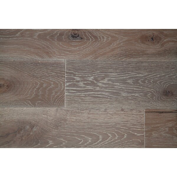 Vita Bella Plus 7 Engineered Oak Hardwood Flooring in Brown/Gray by Alston Inc.