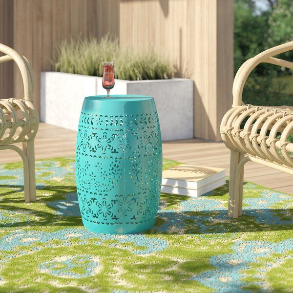 Ifrane Metal Side Table by Bungalow Rose