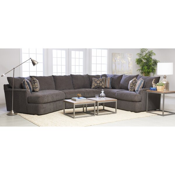 Classy Steveda Cuddle Reversible Sectional by Red Barrel Studio by Red Barrel Studio