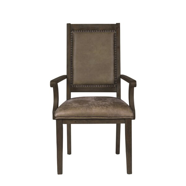 Veeder Upholstered Dining Chair (Set of 2) by Loon Peak