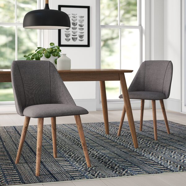 Javier Upholstered Dining Chair (Set of 2) by Comm Office